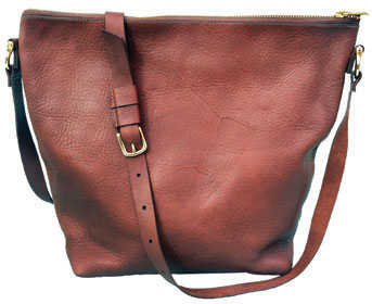leather tote gift