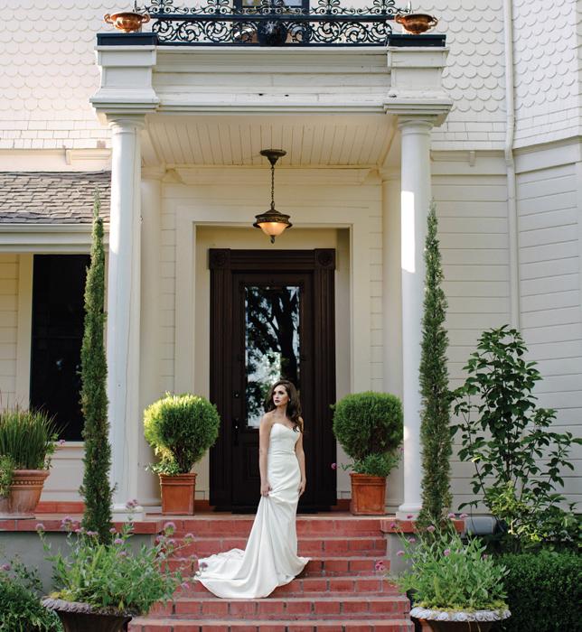 Elegant Drama Bride