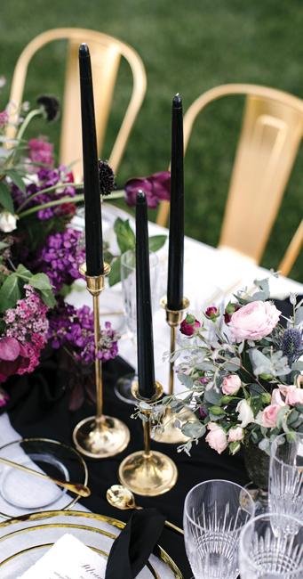Elegant Drama Table