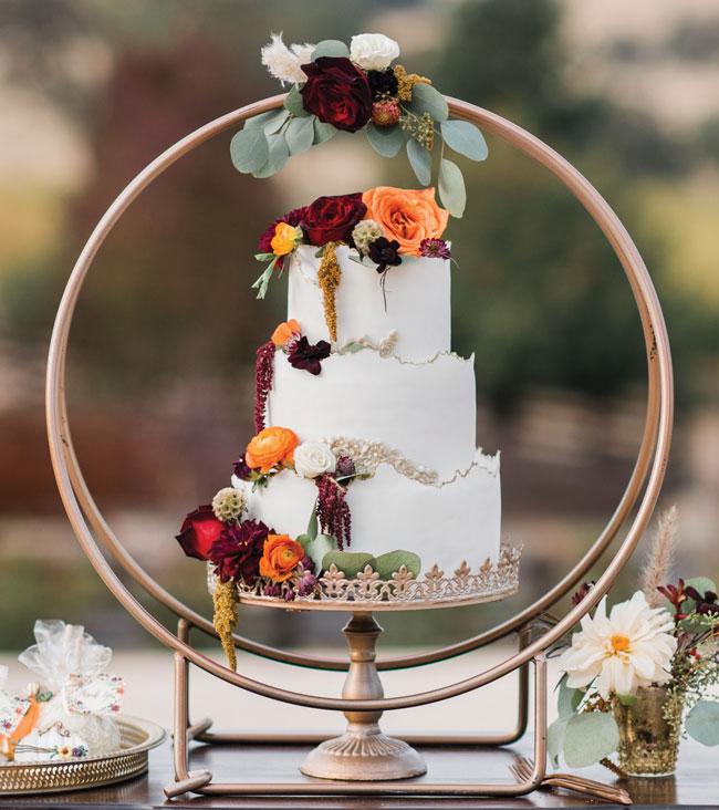 autumn elegance cake
